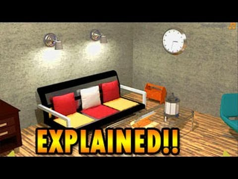 Metallic Room Escape Walkthrough, Explained Full Solution
