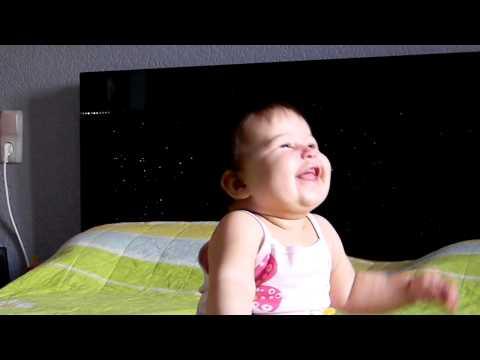 А мне смешно Baby Best Baby Laugh Смех детский Дети.MOV