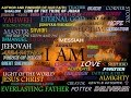 The Names of Almighty God Yahweh of Israel - HE IS Jesus Christ - From Genesis to Revelation