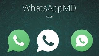 Nuevo Whatsapp MD con Material Desing (Android) 2015