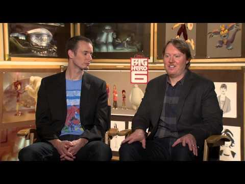 Big Hero 6 (2014) Exclusive: Chris Williams And Don Hall (HD) Scott Adsit, Ryan Potter