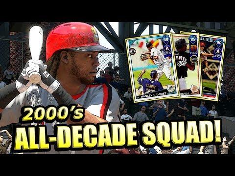 2000's ALL-DECADE SQUAD!! MLB THE SHOW 18 DIAMOND DYNASTY