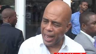 VIDEO: Haiti - President Martelly pale ak La Presse sou Reyinon li ap fe al Pati Politik yo pou resoud Kriz peyi a.