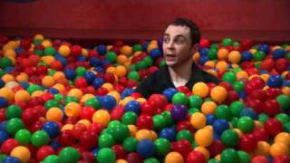 The Big Bang Theory Sheldon Bazinga! in ball pit