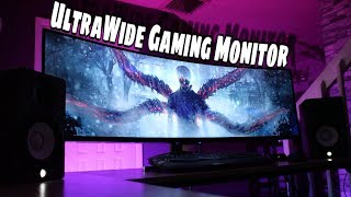 Best UltraWide Affordable Gaming Monitor 2019 |  Viotek 49 Curved Monitor Review