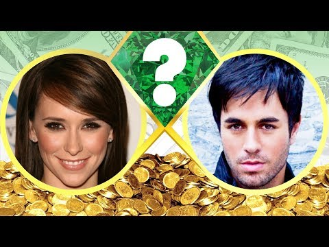 WHO'S RICHER? - Jennifer Love Hewitt or Enrique Iglesias? - Net Worth Revealed! (2017)