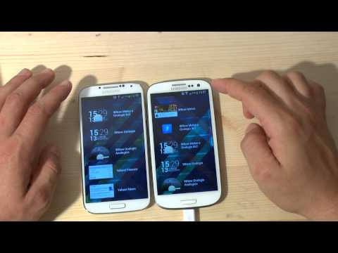 Galaxy S3 con android 4.2.2 vs. Galaxy S4 by HDblog