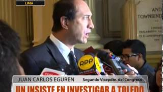 Un Insiste En Investigar A Toledo
