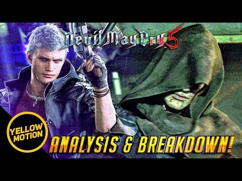 DEVIL MAY CRY 5   Is Vergil Still Corrupt? Why Nero lost his Arm? Indepth Analysis & Breakdown!