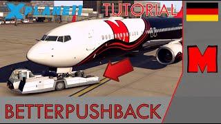 X-Plane 11 BetterPushback - Tutorial [GERMAN]