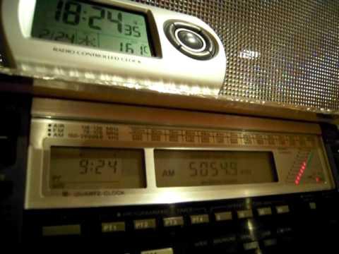Radio Vanuatu / 5055kHz, received in Japan