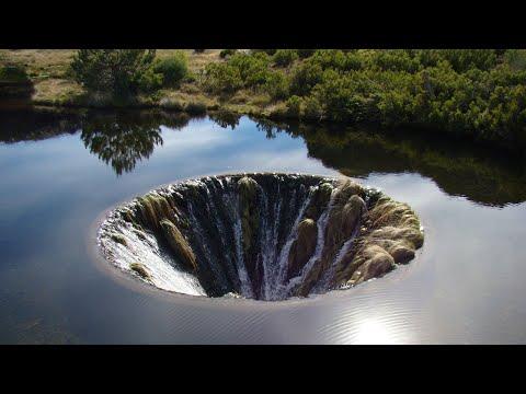 Did CERN Created Black Hole Inside Earth? City Swallowed, Millions Sinkholes Opened, Ocean Drops