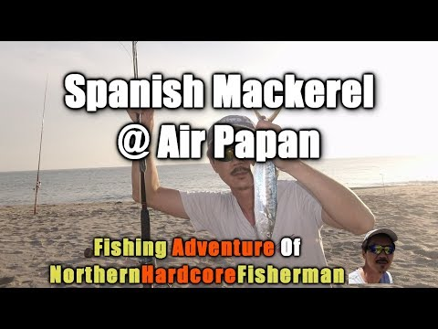 Fishing Trips: Spanish Mackerel at Air Papan Beach, Mersing Malaysia