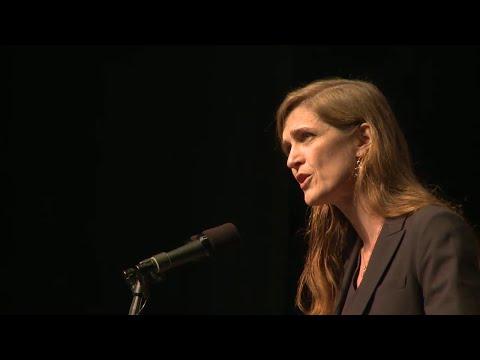 U.S.  Ambassador to the United Nations Samantha Power Slams Its Anti Israel Bias