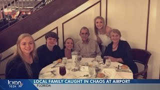 Austin family caught up in chaos at Fort Lauderdale airport
