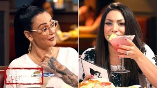 Jenni & Deena Play Never-Have-I-Ever Mom Edition 🍸 at Chili's | Jersey Shore: Family Vacation