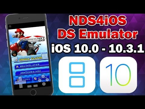 How to Install NDS4iOS Nintendo DS Emulator on iOS 10.0 - 10.3.2 (No Jailbreak / No Computer)