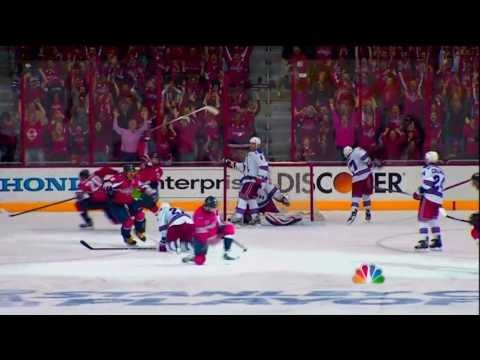 Mike Green Game Winner - OT Goal Game 2 vs Rangers May 4 2013