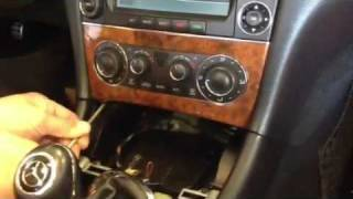 2006 Mercedes Benz CLK350 Radio dash removal HOW TO DiY