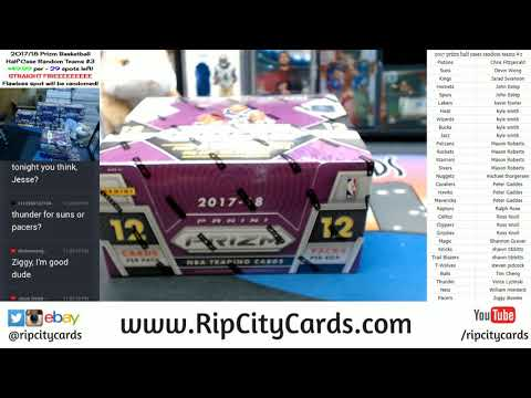 2017 Panini Prizm Basketball Half Case Random Teams #2 RCC 12012017