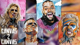 The Select Series – Bray Wyatt, Sting, Toni Storm and WALTER: WWE Canvas 2 Canvas
