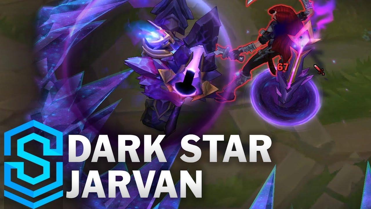Dark Star Jarvan Skin Spotlight - Pre-Release - League of Legends