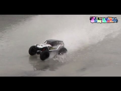 EXTREME RC Hill Climb & KYOSHO FOXX Hydroplaning