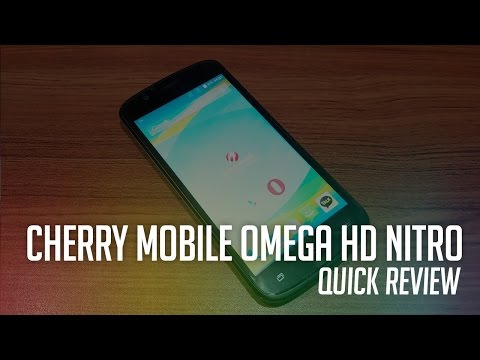 Cherry Mobile Omega HD Nitro Unboxing And Quick Review