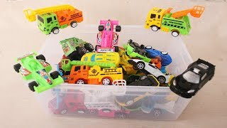 Colors for Children to Learn with Transport Vehicles Names for Baby Learning Video Episode 5