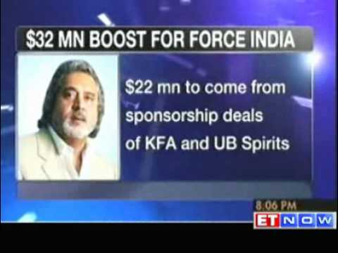 Vijay Mallya pumps in 32 mn for Sahara Force India