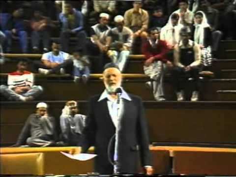 Crucifixion Or Cruci-fiction - Sheikh Ahmed Deedat video