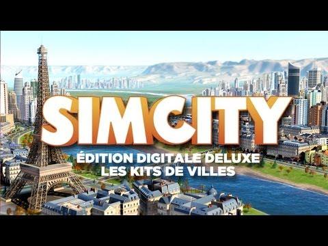 SimCity Édition Digitale Deluxe - Les Kits de villes