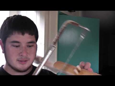 How to Make a 100 Pound PVC Crossbow Part 5 - Trigger Assembly