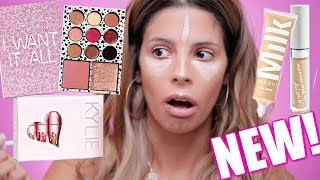 FULL FACE OF FIRST IMPRESSIONS | HIT OR MISS? | KYLIE BIRTHDAY COLLECTION