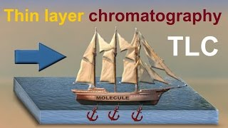 Thin Layer Chromatography (TLC), animation 2