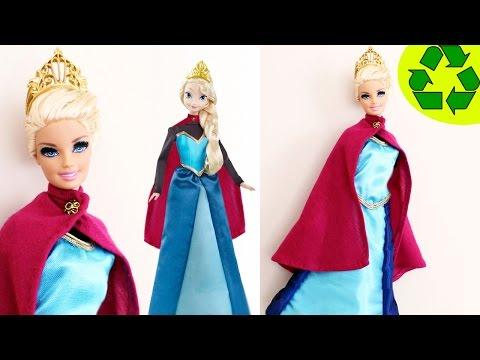 C�mo hacer una el vestido de coronaci�n para Elsa