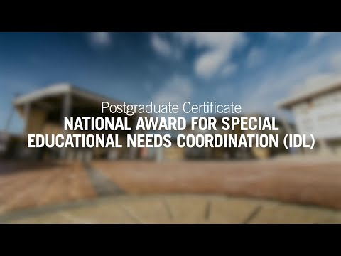 National Award for Special Educational Needs Coordination (IDL)