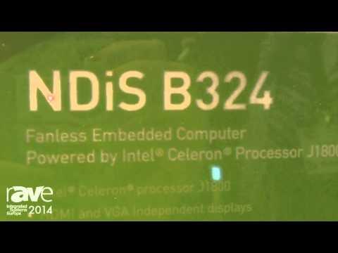 ISE 2014: NEXCOM Introduces NDiS B324 Fanless Digital Signage Player