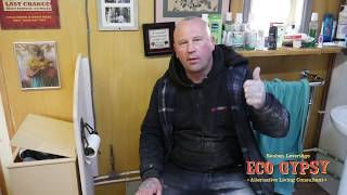 eco gypsy  installing a diesel blow heater