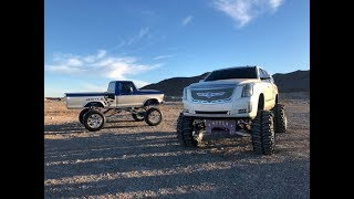 Truck Photo Shoot in the Nevada Desert