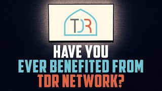 WATCH THIS IF TDR NETWORK HAS BENEFITED YOU IN ANY WAY! ????
