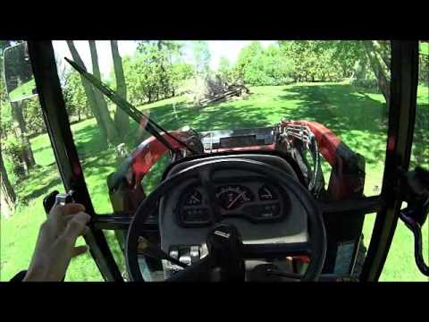 Video Review how it works CASE IH FARMALL 60 Compact Series Tractor with Cab Loader to start