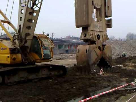 Budowa Dworca PKP W Katowicach