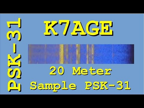 Sample of 20 Meter Activity for PSK31 Introduction Video