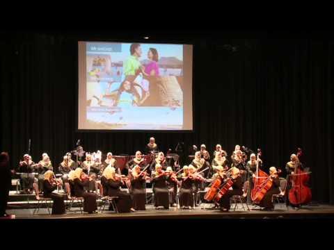 The Fourth Pyramid of EGYPT Al-Nour Wal Amal Orchestra at Hamburg (October 11, 2013)