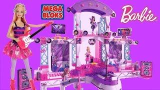 Mega Bloks Barbie Build N Play Super Star Stage with Barbie PopStar Dolls
