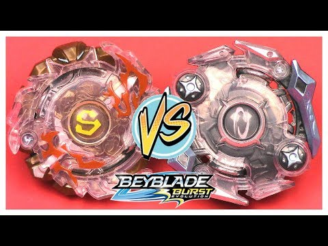 BATTLE: SURTR S2 vs ODAX O2!! Hasbro Beyblade Burst Evolution