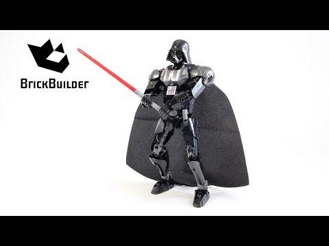 Lego Star Wars 75111 Darth Vader - Lego Speed Build