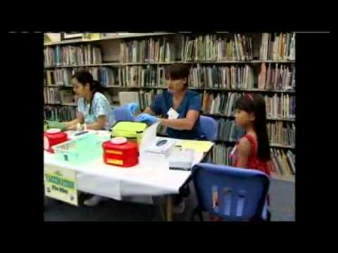 Elementary kids targeted for flu vaccine