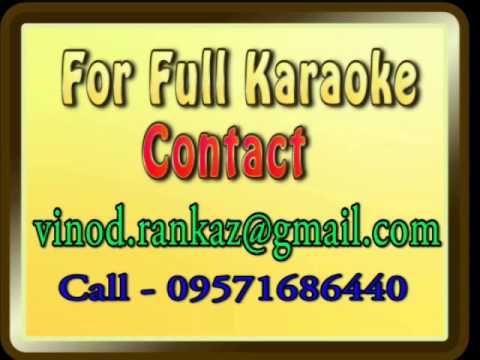 Aate Aate Teri Yaad Aa Gayi   Karaoke   Jaan Ki Baazi